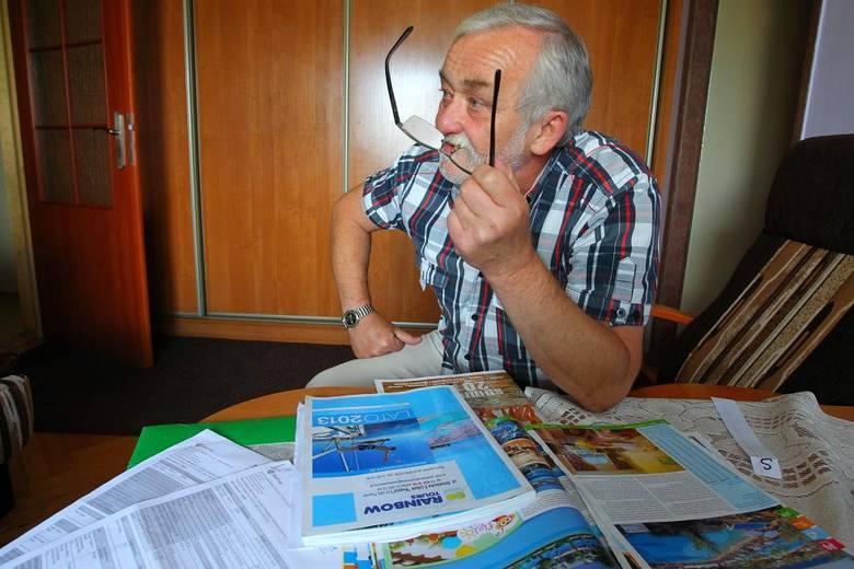 Ryszard Lewczycki z żoną zaplanowali wakacje na wrzesień