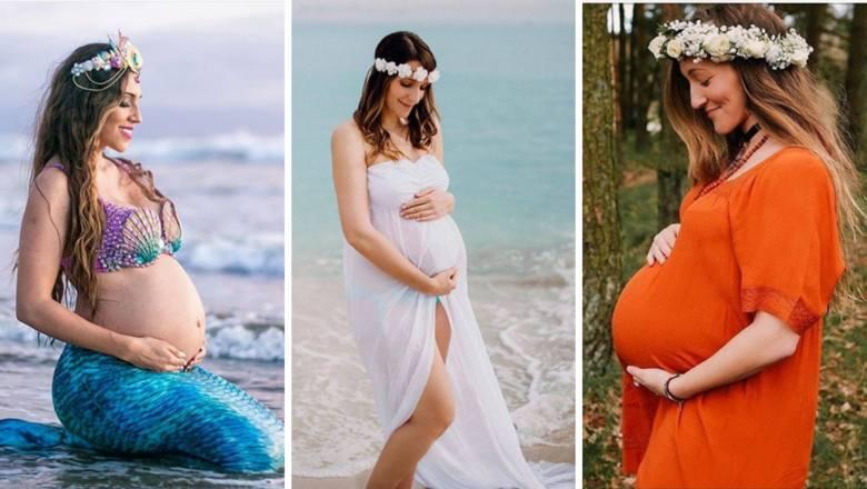 Chcesz pochwalić się brzuszkiem? Oto najpiękniejsze pomysły na sesję ciążową. Zobacz galerię