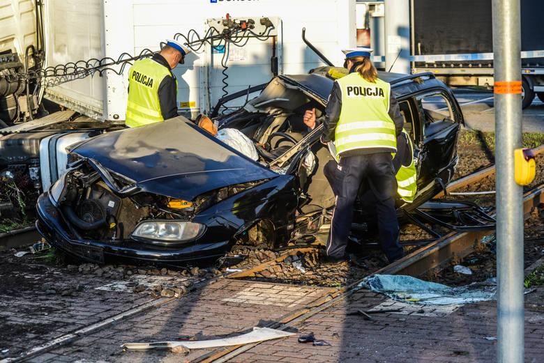 Wypadek w Bydgoszczy - 17 maja 2017.