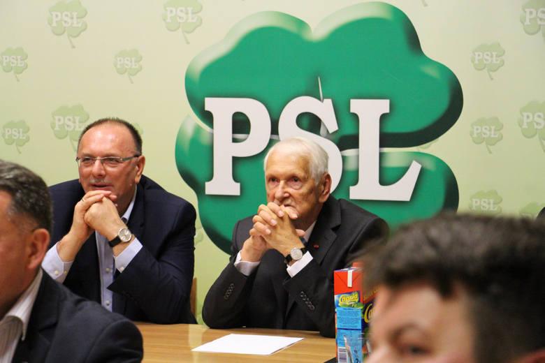 Nastroje w sztabie wyborczym PSL w Zielonej Górze były nieciekawe. Po ogłoszeniu pierwszych sondażowych wyników nikt się nie cieszył.