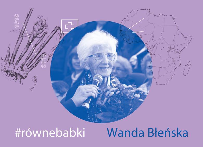 """Urodziła się w Poznaniu. Lekarka, żołnierz Armii Krajowej. Nazywana jest """"Matką Trędowatych"""". Przez kilkadziesiąt lat pracowała w Afryce, lecząc ludzi"""