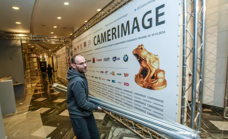 Przygotowania do Camerimage 2016.