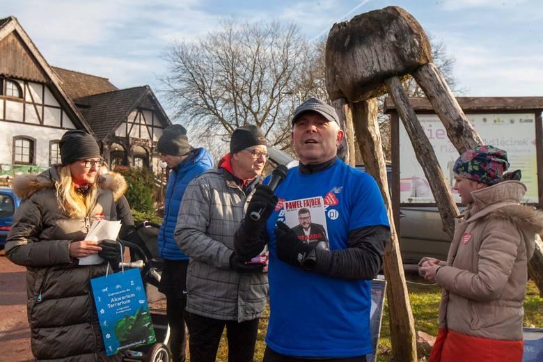 12 stycznia w Myślęcinku odbył się Trening biegowy z licytacją przedmiotów dla WOŚP. Imprezę zorganizowali RUN BYDGOSZCZ z Biegi Bydgoszcz oraz Bydgoszcz