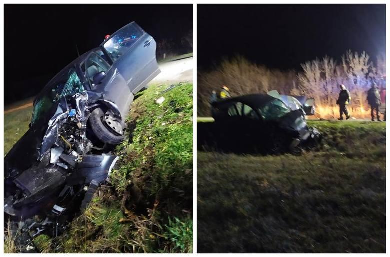 We wtorek, przed godziną 23., doszło do czołowego zderzenia dwóch samochodów osobowych. Wypadek miało miejsce w Trywieży w powiecie hajnowskim. Brały