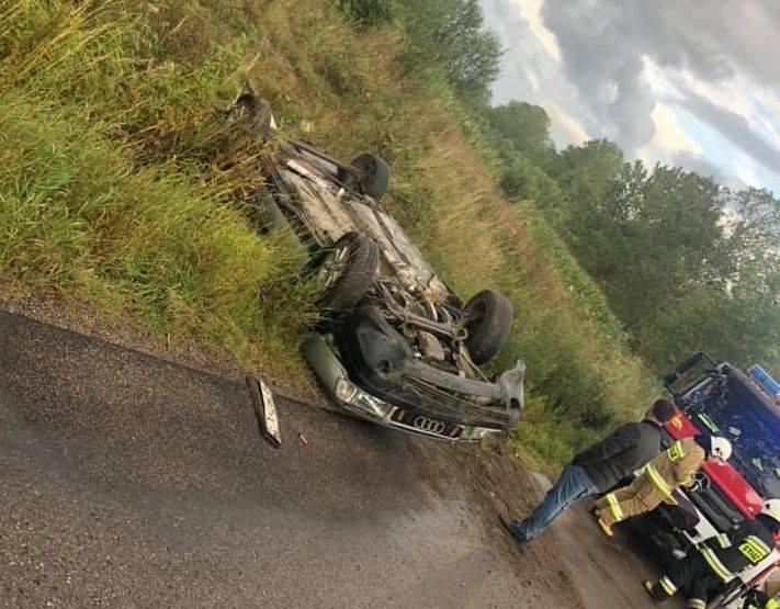 Do zdarzenia drogowego doszło we wtorek około godziny 16.30.