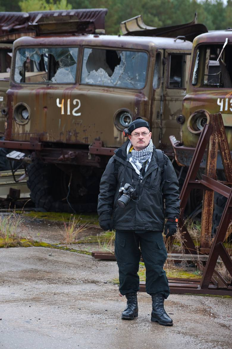 Czarnobyl odwiedził już 17 razy. I znowu się tam wybiera