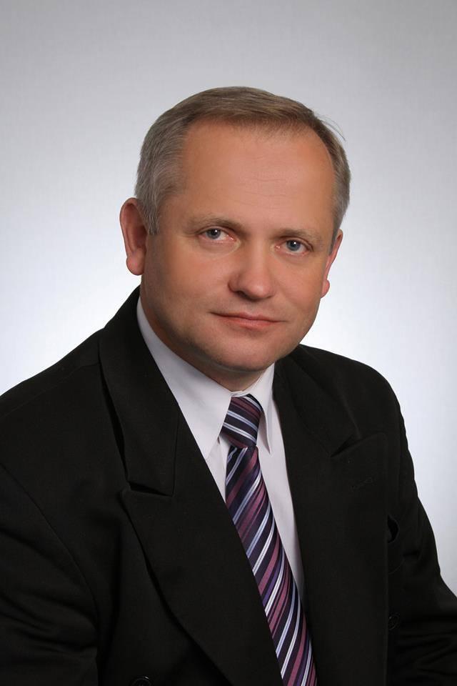 Dariusz Pomada obecny wójt Mykanowa, wygrał w pierwszej turze