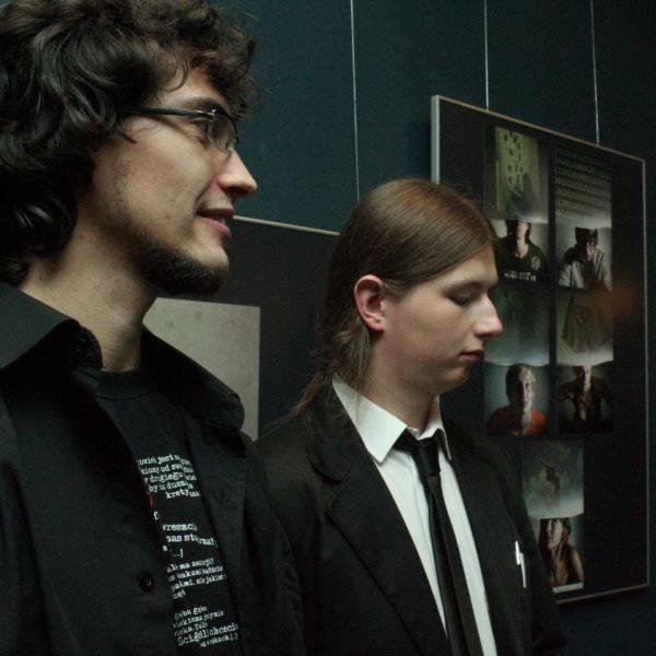 Łukasz Zimnoch (z lewej) i Paweł Dudko fotografują od kilku lat