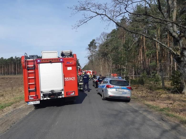 Do tragicznego w skutkach wypadku doszło dziś około godz. 8 rano między miejscowościami Szynkielów i Stolec. Jak informuje kpt. Grzegorz Kasprzyczak