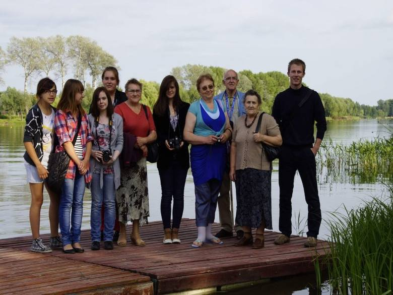 Uczestnicy warsztatów nad Gopłem