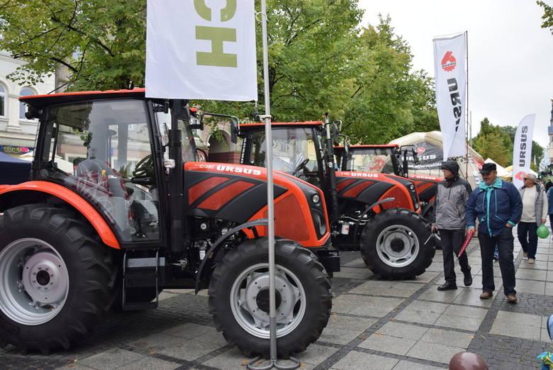 Na trwającej do jutra XXVI Krajowej Wystawie Rolniczej można podziwiać wiele rodzajów nowoczesnego rolniczego sprzętu