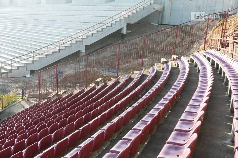 Nowy stadion w Szczecinie. Najnowsze ZDJĘCIA z placu budowy