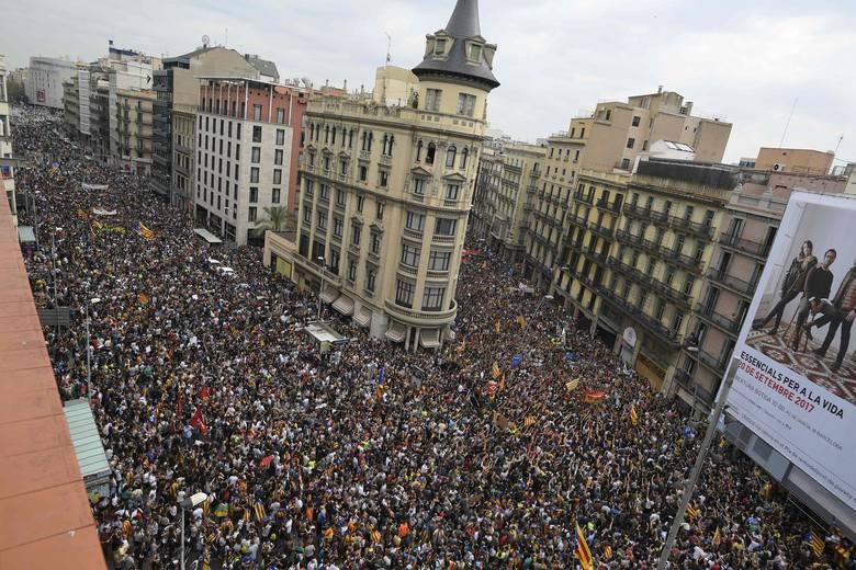 Referendum w Katalonii. Region ogłosi niepodległość za kilka dni