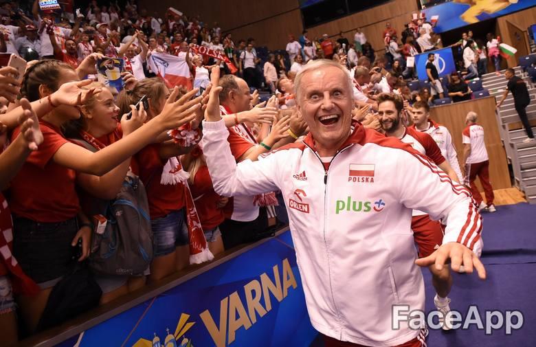 Zawsze uśmiechnięty Dawid Wojtaszek.
