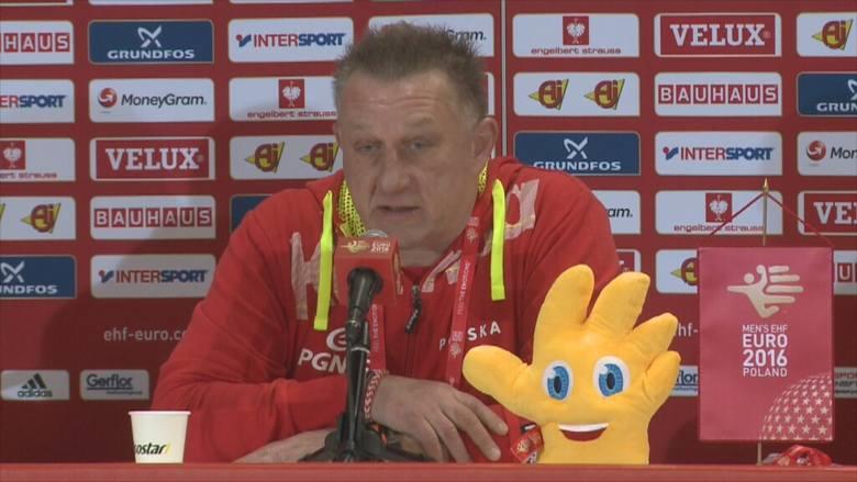 Michael Biegler przed meczem z Chorwacją [wideo]