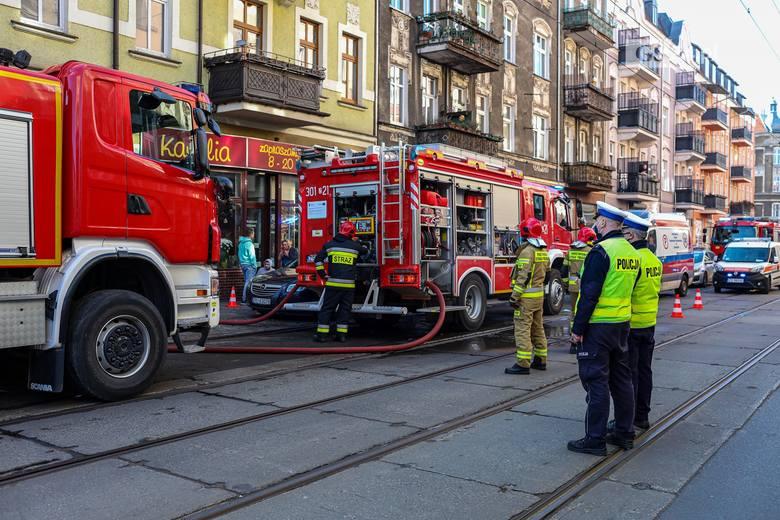 Tragiczny pożar przy ul. Jagiellońskiej w Szczecinie - 3.03.2021