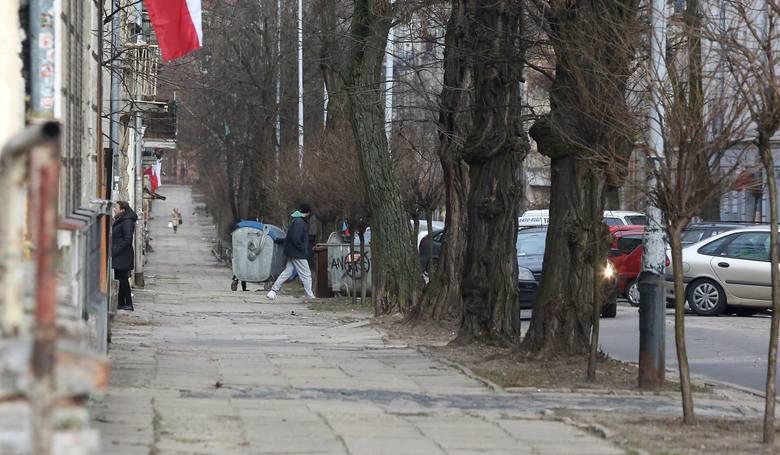 Centrum handlu dopalaczami na Bałutach