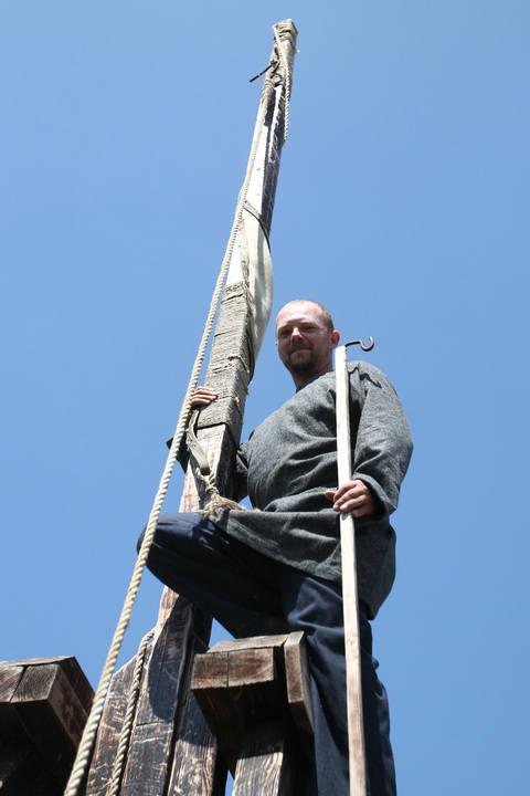 Piotr Mroczka jest na co dzień przedsiębiorcą z Podkarpacia. W wolnych chwilach zajmuje się niecodziennym hobby