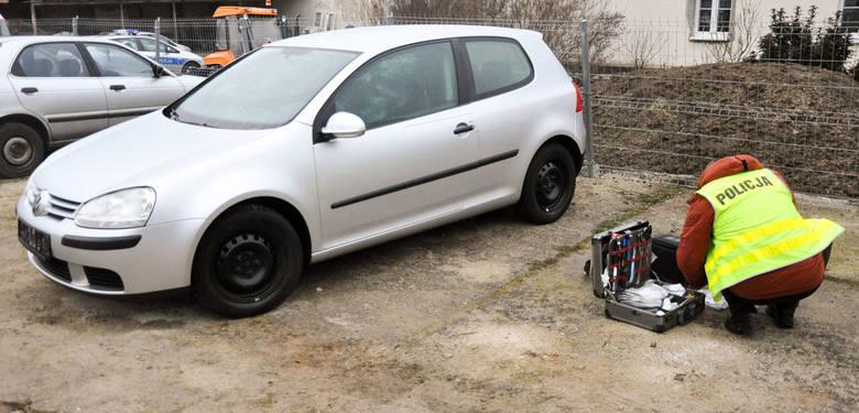 Volkswagen golf został skradziony w Niemczech