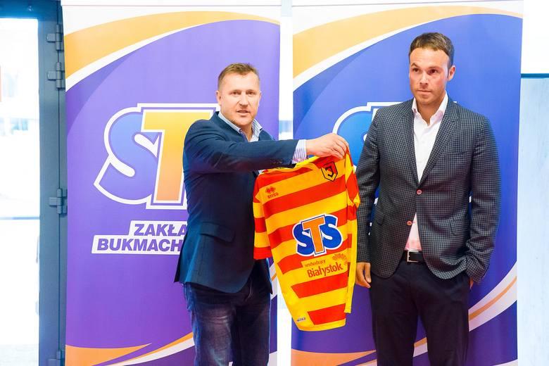 Piłkarze Jagiellonii zyskali nowego sponsora głównego, którego logo będzie widnieć na koszulkach meczowych przez najbliższe dwa lata