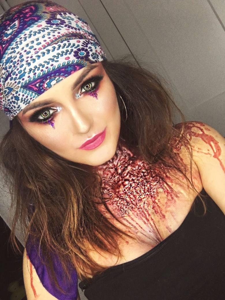 Halloween: top wzorów na makijaż ZDJĘCIA