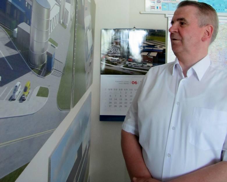 Dariusz Sapiński, prezes Mlekovity, zawsze w koszuli, chociaż za krawatem nie przepada