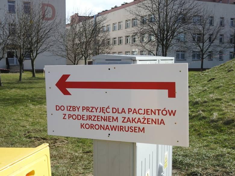 Szpital Wojewódzki w Łomży wskazany został do zabezpieczenia pacjentów, u których potwierdzono koronawirusa SARS-Cov-2 wywołującego chorobę o nazwie