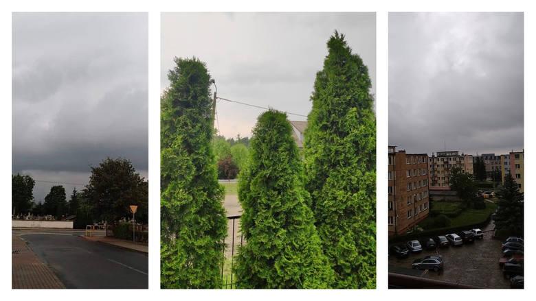 Burza nawiedziła w czwartek nasze województwo. Zobacz zdjęcia nadesłane przez naszych czytelników w dalszej części galerii >>>