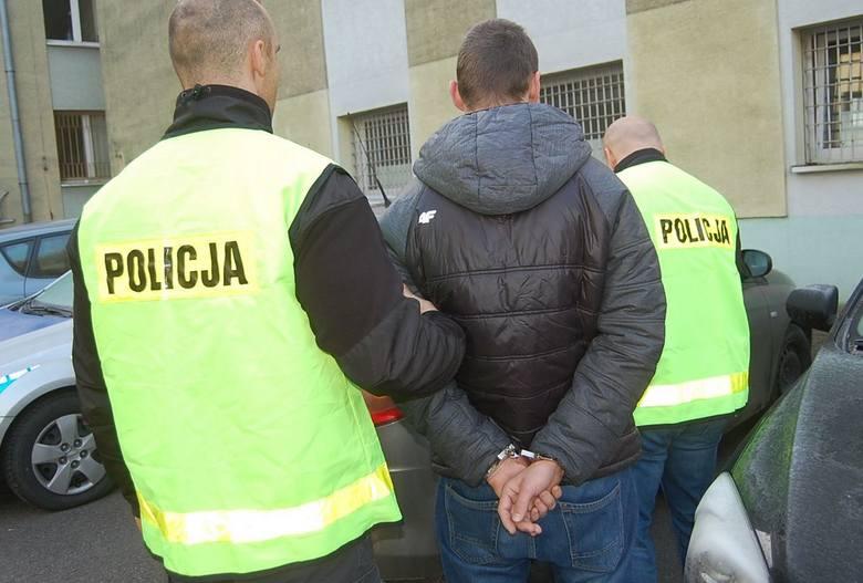Kamil K. trafił do policyjnej izby zatrzymań
