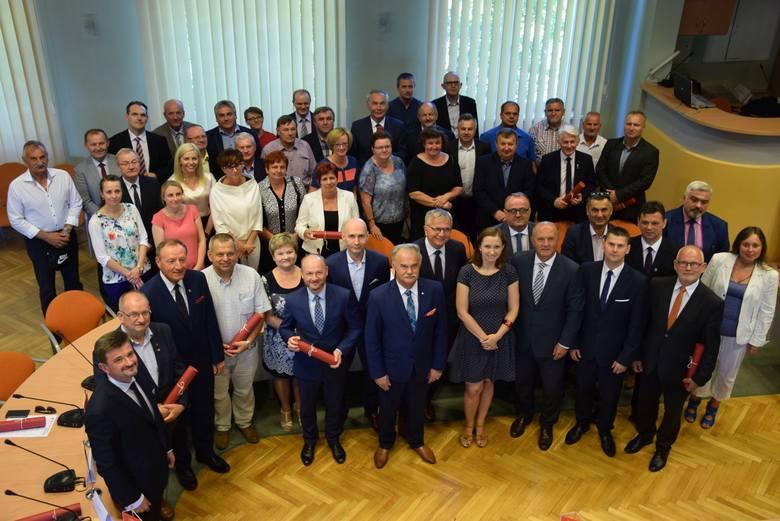 Podpisanie umowy subregionu północnego z marszałkiem Andrzeja Buły
