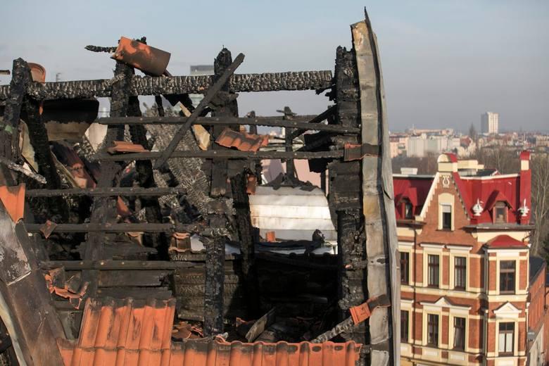 27.12.2017 bydgoszcz pozar spalony dach sw trojcy .<br /> fot: wojciech arkuszewicz/polskapress