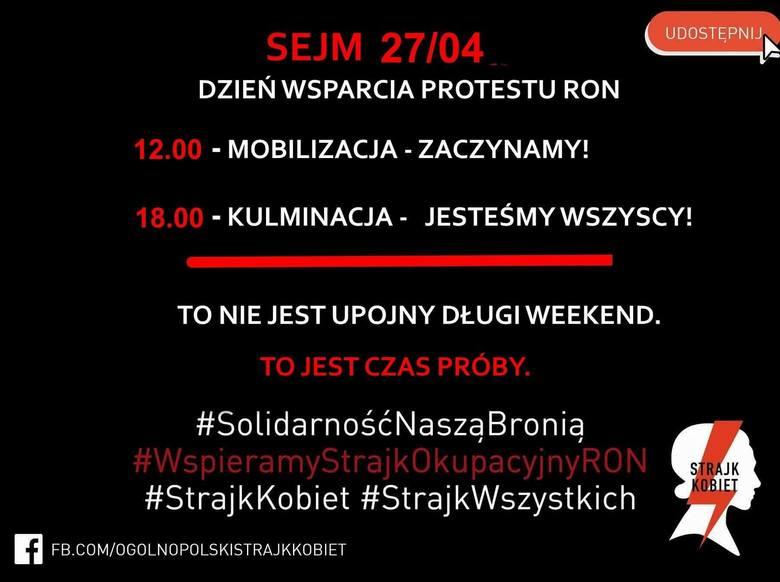 Ogólnopolski Strajk Kobiet wspiera matki niepełnosprawnych dzieci i wzywa do strajku okupacyjnego