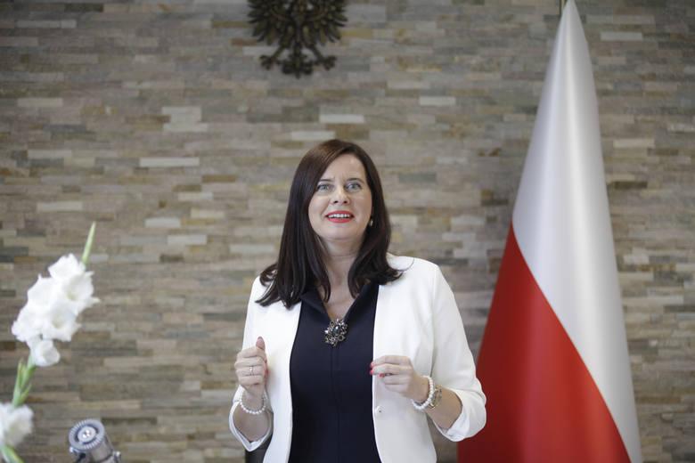 """Violetta Porowska, szefowa PiS w regionie, była """"jedynką"""" prawicy do Sejmu.<br />"""