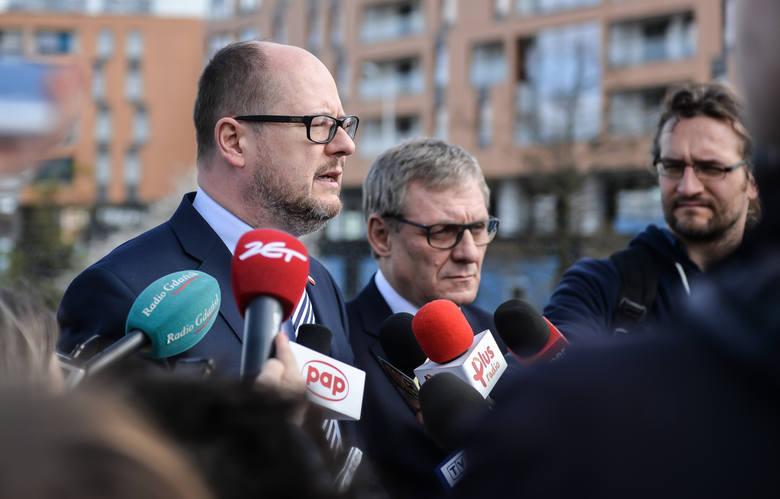 Prezydent Paweł Adamowicz jest za nazwą  pl. Wiadrowników