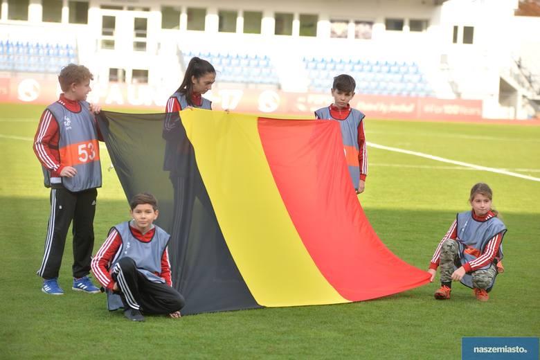 Belgia - Liechtenstein 12:0  eliminacjach Mistrzostw Europy 2020 U17 we Włocławku [zdjęcia]