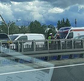 Karambol na Autostradowej Obwodnicy Wrocławia. Ogromne korki i utrudnienia