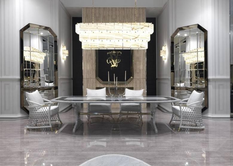 Pomieszczenie w stylu glamour to dbałość o każdy element we wnętrzu.