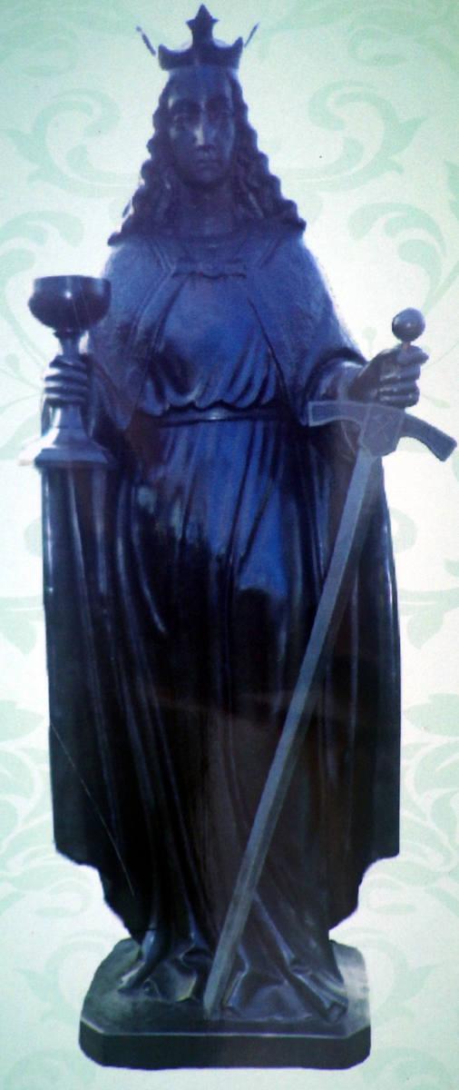 W Barbórkę poświęcenie figury św. Barbary w Lędzinach Goławcu