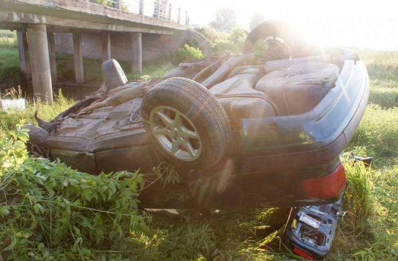 Śmiertelny wypadek 22-latki nad rzeką Orlanka (zdjęcia)