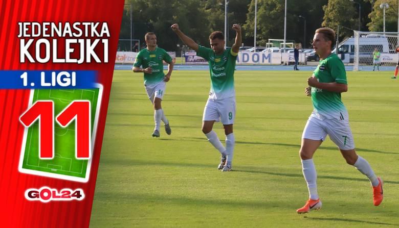 Radomiak nowym liderem. Jedenastka 12. kolejki Fortuna 1 Ligi według GOL24.pl!