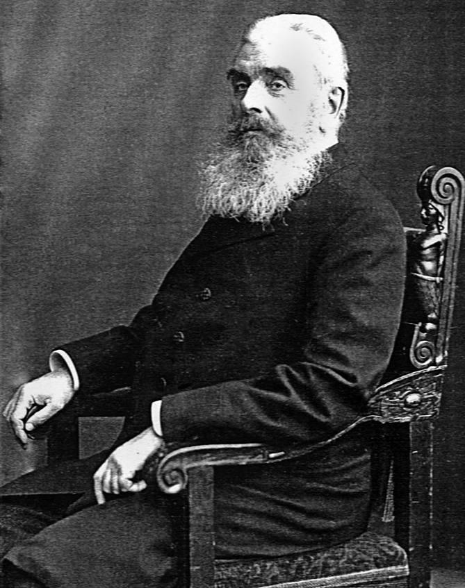 Guido Henckel von Donnersmarck, zdjęcie pod koniec życia.  Książę zmarł w 1915 roku.<br /> <br />