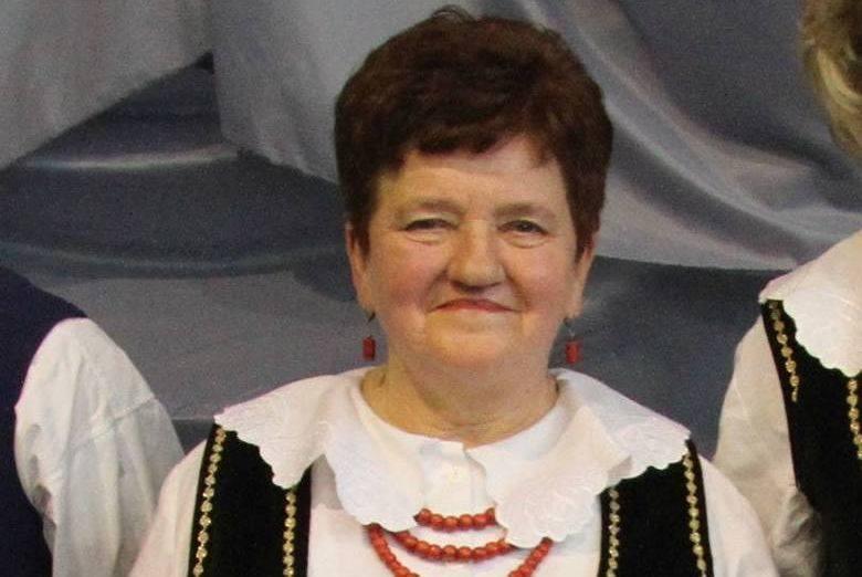 """Barbara Sołtyka, prezes Koła Gospodyń Wiejskich """"Kalinki"""" z Brzozowej w gminie Tarłów."""
