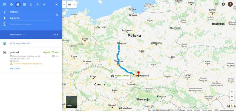 Opróch nawigacji, informacji o korkach, czasie przejazdu, możliwościach wyszukania szybszych tras Google Maps poinformuje nas o ... fotoradarach i patrolach