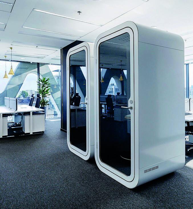 Open Space i hot desk, strefy ciszy, zielone enklawy