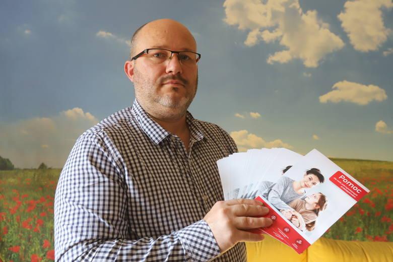 Michał Owczarski pomaga zadłużonym w chwilówkach, które przy okazji brania pożyczki stały się ofiarą przestępstwa