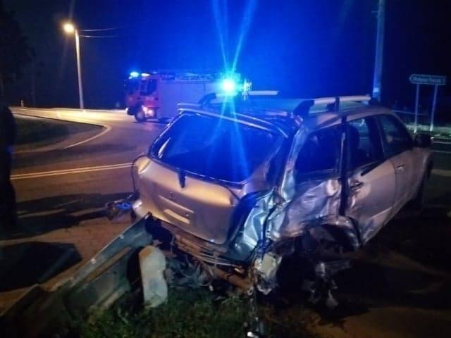 Śmiertelny wypadek na drodze krajowej numer 77 relacji Stalowa Wola - Sandomierz. Nie żyje motocyklista (ZDJĘCIA)