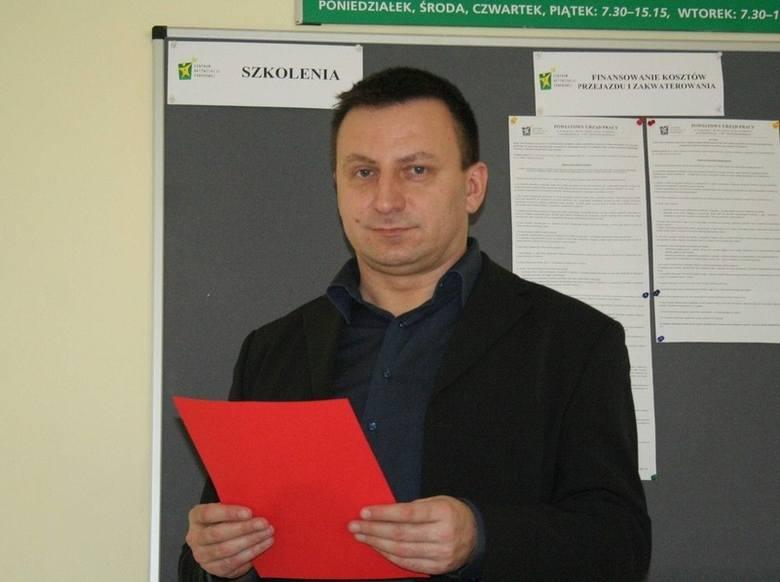 - Czekamy na wnioski - mówi Sławomir Cieślicki, dyrektor PUP-u w Chełmnie