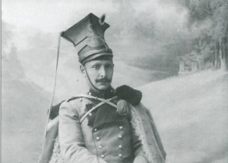 Rotmistrz Kajetan Stefanowicz, pochowany na Cmentarzu Orląt Lwowskich