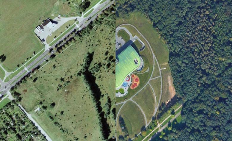 Wiecie, jak wygląda Koszalin na zdjęciach satelitarnych z Google Earth? A jak najbardziej popularne dziś miejsca wyglądały 10 lat temu? Sprawdźcie. Większość