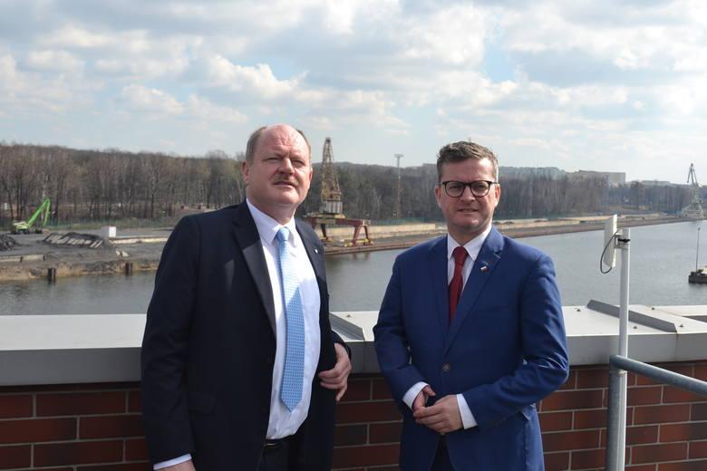 Delegacja z Saksonii rozpoczęła wizytę studyjną na odrzańskiej drodze wodnej